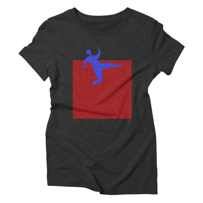 Out Of The Box Women's Triblend T-Shirt by Hana's Scribbles Artist Shop