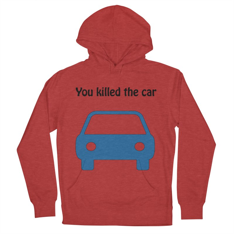 Dead Car Women's Pullover Hoody by Hana's Scribbles Artist Shop
