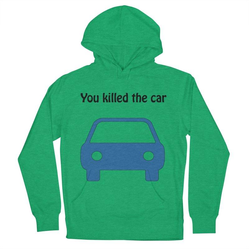 Dead Car Men's Pullover Hoody by Hana's Scribbles Artist Shop