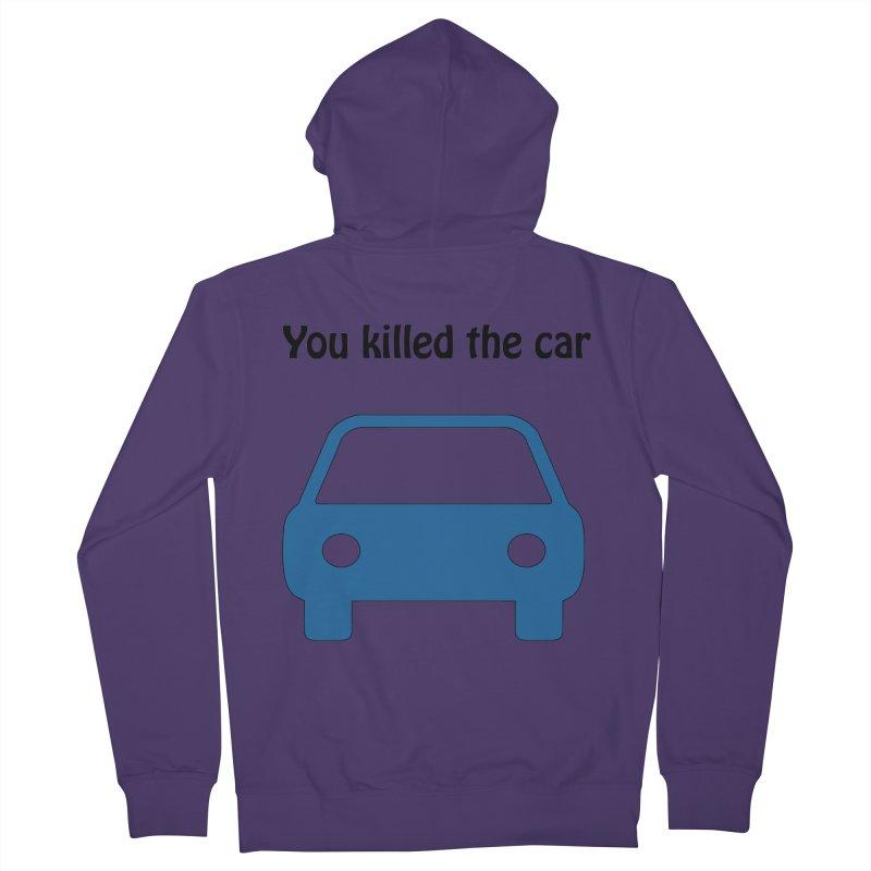 Dead Car Women's Zip-Up Hoody by Hana's Scribbles Artist Shop