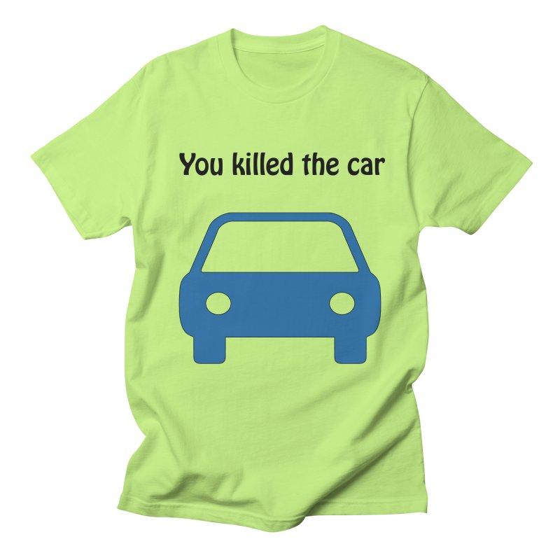 Dead Car Men's T-Shirt by Hana's Scribbles Artist Shop