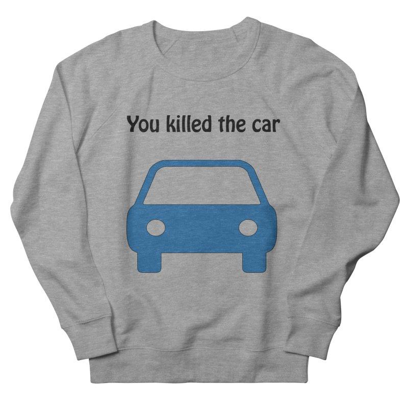 Dead Car Men's Sweatshirt by Hana's Scribbles Artist Shop