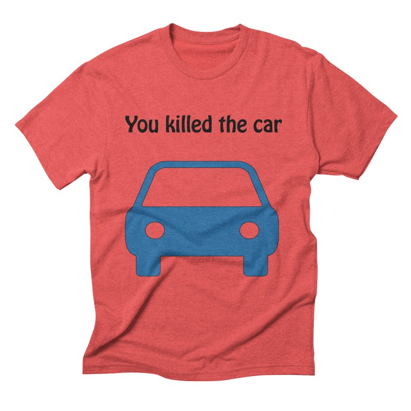 Dead Car Men's Triblend T-Shirt by Hana's Scribbles Artist Shop