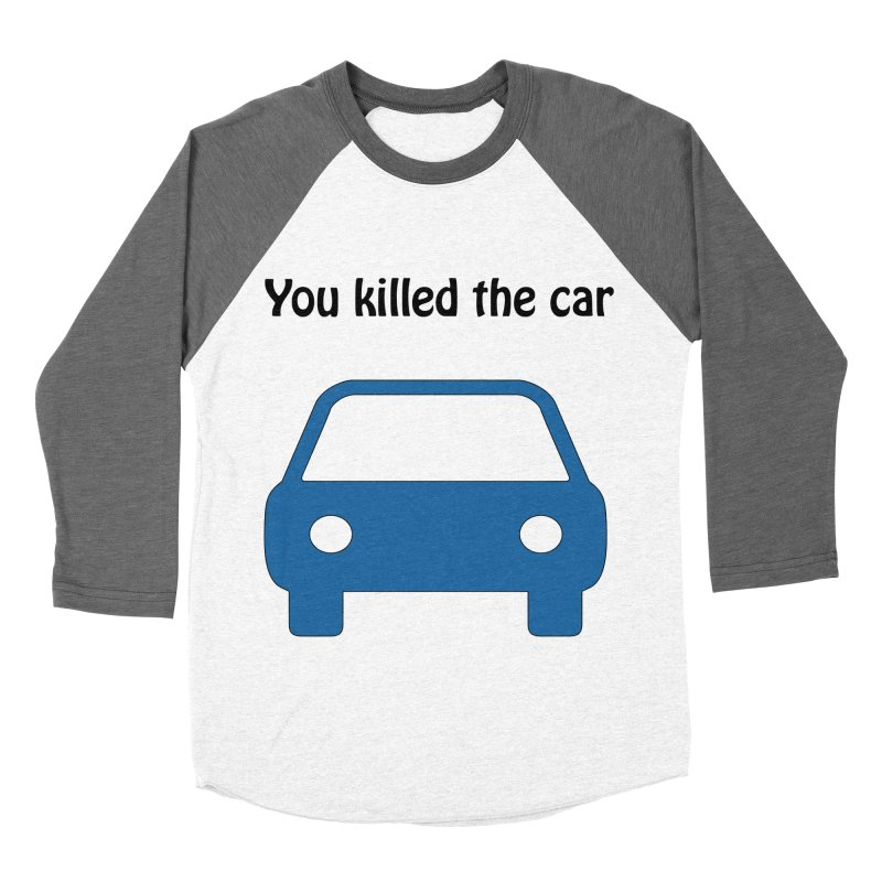 Dead Car Men's Baseball Triblend T-Shirt by Hana's Scribbles Artist Shop
