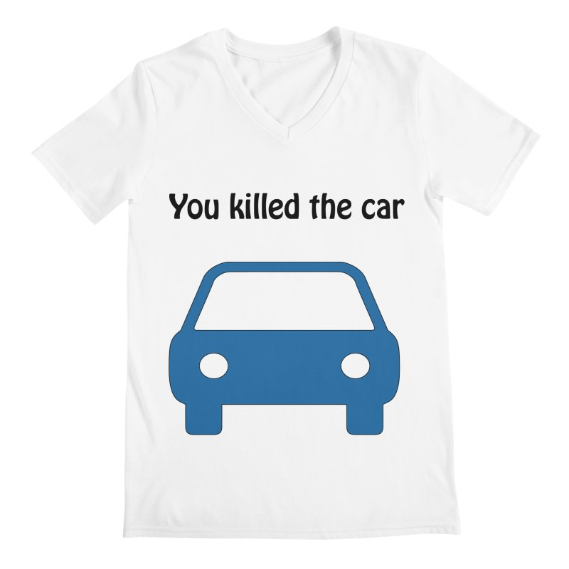 Dead Car Men's V-Neck by Hana's Scribbles Artist Shop