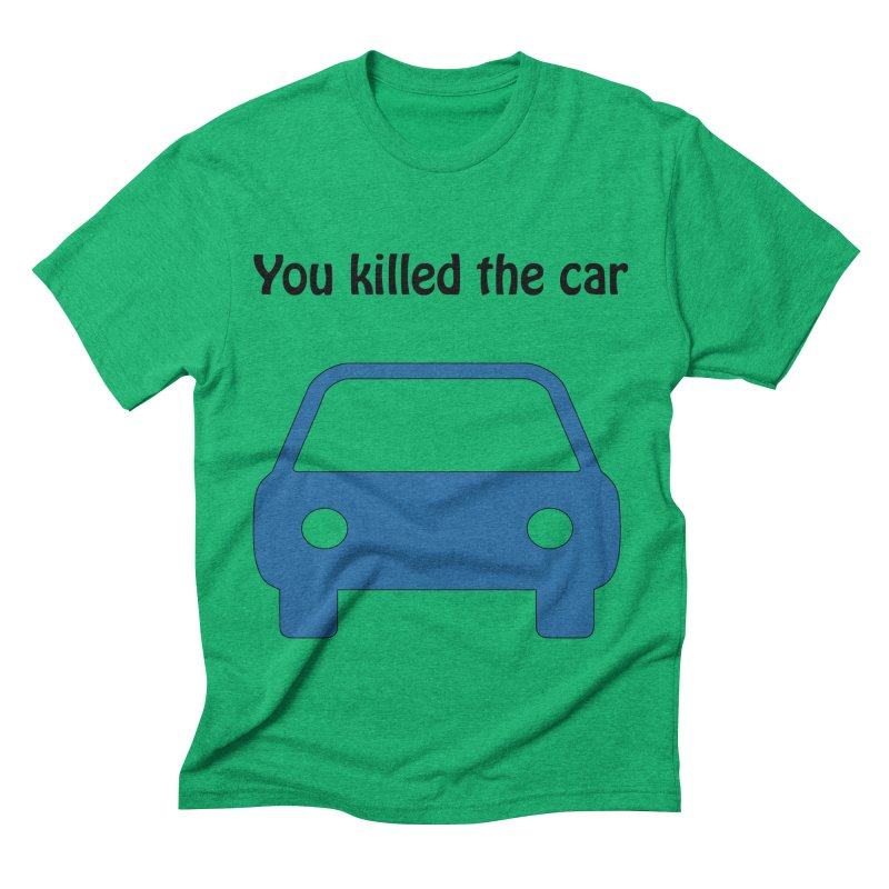 Dead Car Men's Triblend T-shirt by Hana's Scribbles Artist Shop