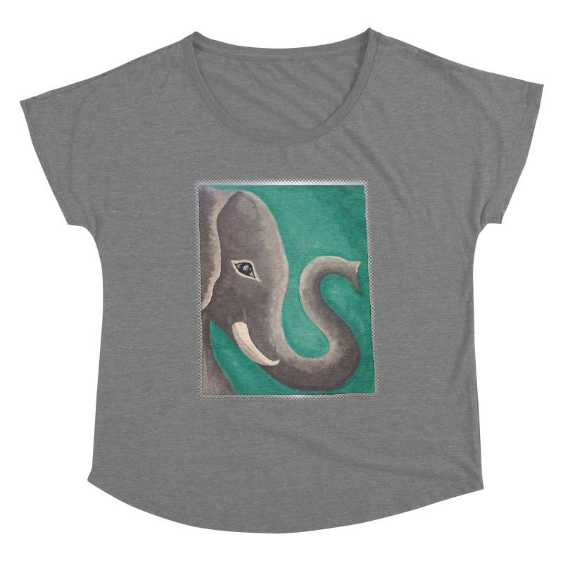 Ele Women's Scoop Neck by the FRINGER! • H.A.N.D. GESTURE FOR eARTh!