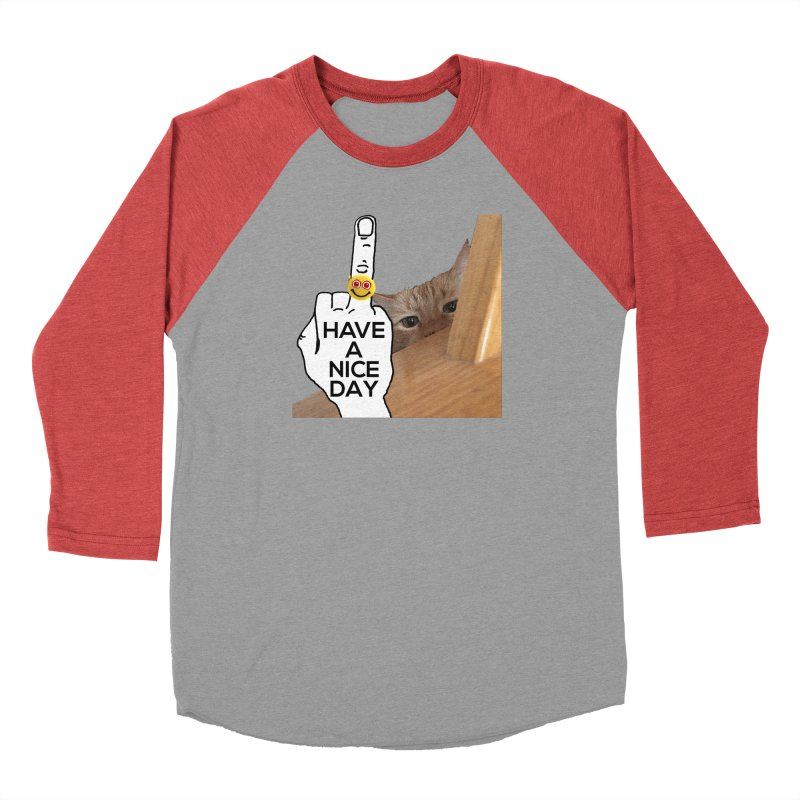 Cat supports the HAND GESTURE FOR eARTh Men's Longsleeve T-Shirt by the FRINGER! • H.A.N.D. GESTURE FOR eARTh!