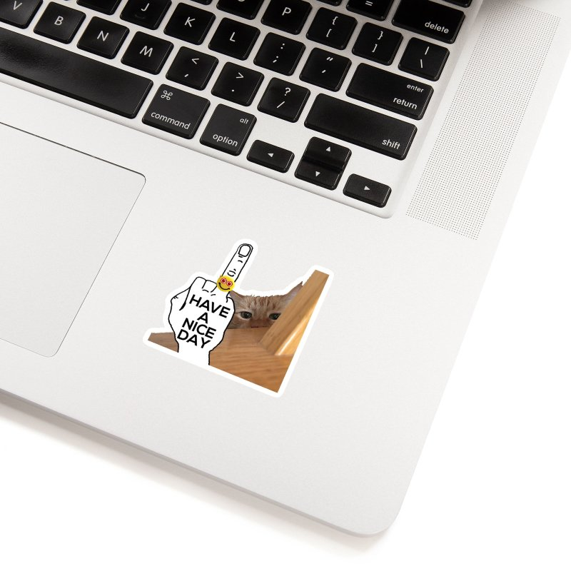 Cat supports the HAND GESTURE FOR eARTh Accessories Sticker by the FRINGER! • H.A.N.D. GESTURE FOR eARTh!