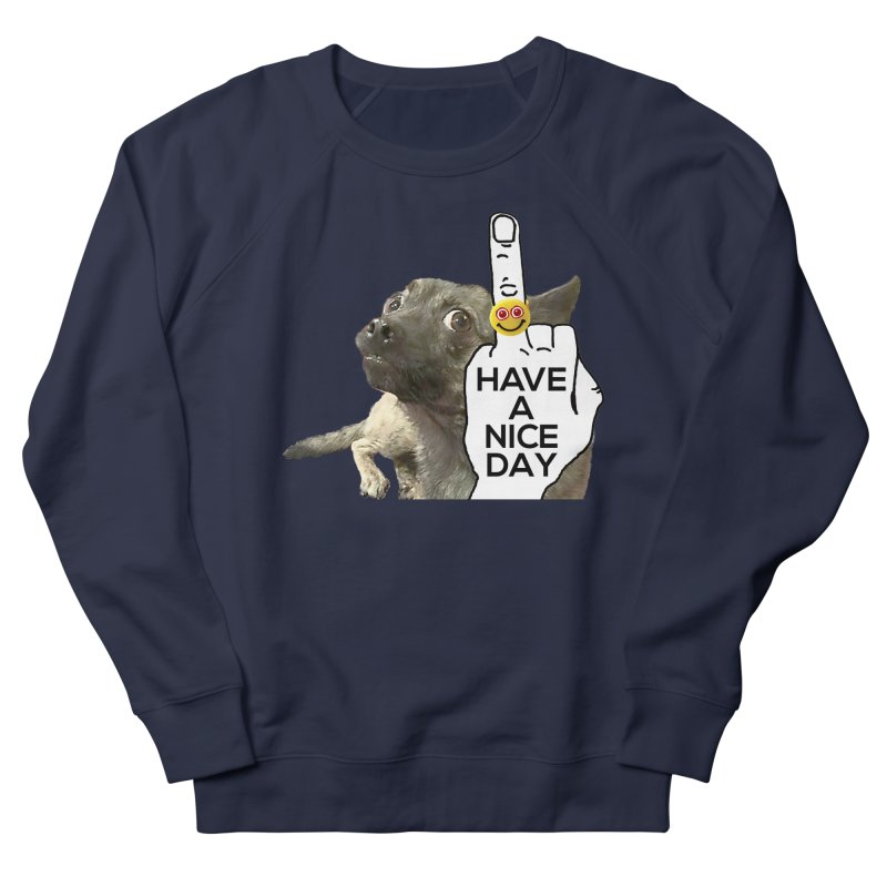 Chug supports the HAND GESTURE FOR eARTh Women's French Terry Sweatshirt by H.A.N.D. GESTURE FOR eARTh! • View COLLECTIONS Too