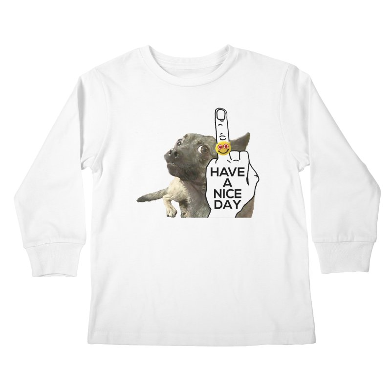 Chug supports the HAND GESTURE FOR eARTh Kids Longsleeve T-Shirt by H.A.N.D. GESTURE FOR eARTh! • View COLLECTIONS Too