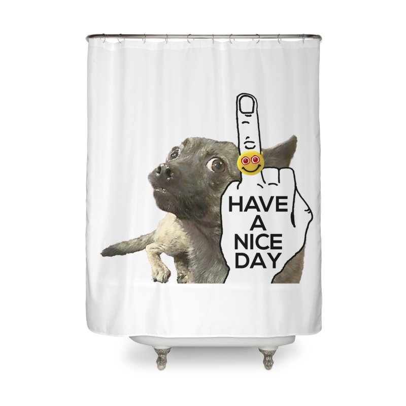 Chug supports the HAND GESTURE FOR eARTh Home Shower Curtain by the FRINGER! • H.A.N.D. GESTURE FOR eARTh!