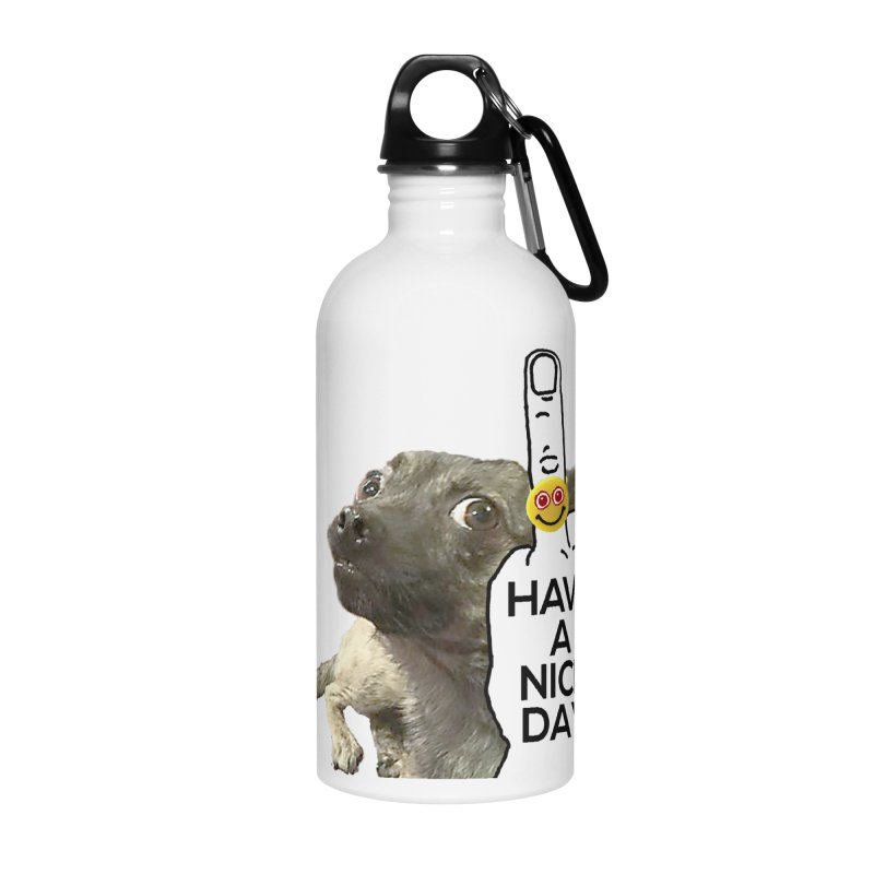 Chug supports the HAND GESTURE FOR eARTh Accessories Water Bottle by H.A.N.D. GESTURE FOR eARTh! • View COLLECTIONS Too