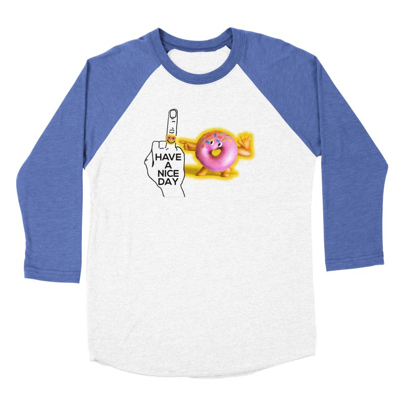 Doonut supports the HAND GESTURE FOR eARTh Women's Baseball Triblend Longsleeve T-Shirt by H.A.N.D. GESTURE FOR eARTh! • View COLLECTIONS Too