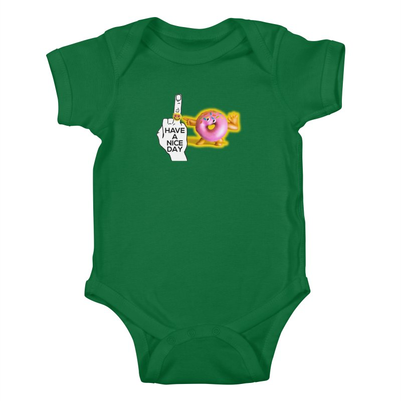 Doonut supports the HAND GESTURE FOR eARTh Kids Baby Bodysuit by the FRINGER! • H.A.N.D. GESTURE FOR eARTh!