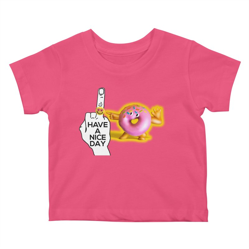 Doonut supports the HAND GESTURE FOR eARTh Kids Baby T-Shirt by H.A.N.D. GESTURE FOR eARTh! • View COLLECTIONS Too
