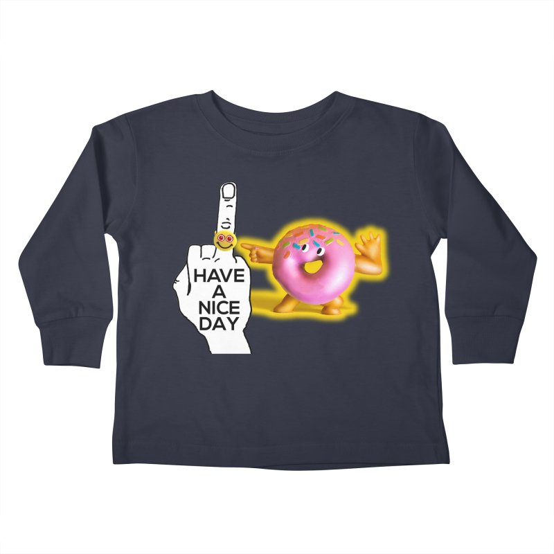 Doonut supports the HAND GESTURE FOR eARTh Kids Toddler Longsleeve T-Shirt by H.A.N.D. GESTURE FOR eARTh! • View COLLECTIONS Too