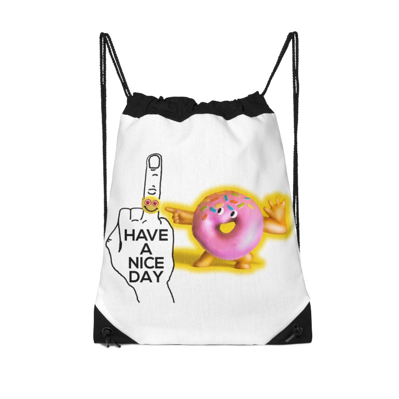 Doonut supports the HAND GESTURE FOR eARTh Accessories Drawstring Bag Bag by H.A.N.D. GESTURE FOR eARTh! • View COLLECTIONS Too