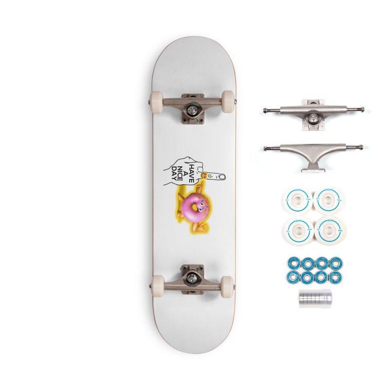 Doonut supports the HAND GESTURE FOR eARTh Accessories Complete - Basic Skateboard by H.A.N.D. GESTURE FOR eARTh! • View COLLECTIONS Too