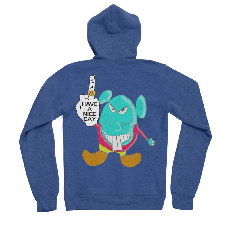 Mousie supports the HAND GESTURE FOR eARTh Men's Sponge Fleece Zip-Up Hoody by H.A.N.D. GESTURE FOR eARTh! • View COLLECTIONS Too