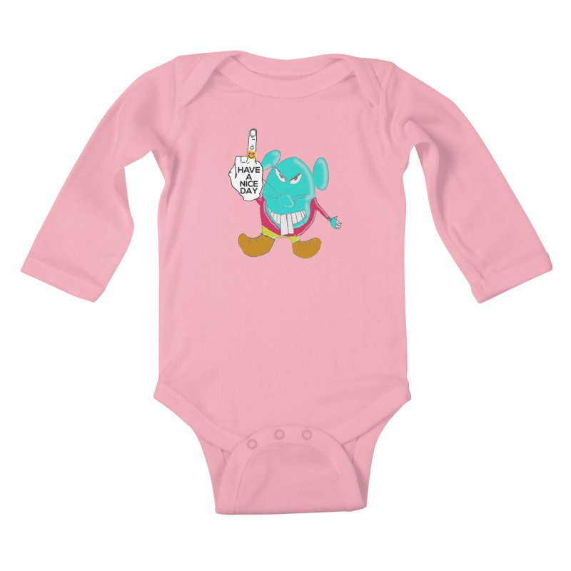 Mousie supports the HAND GESTURE FOR eARTh Kids Baby Longsleeve Bodysuit by H.A.N.D. GESTURE FOR eARTh! • View COLLECTIONS Too