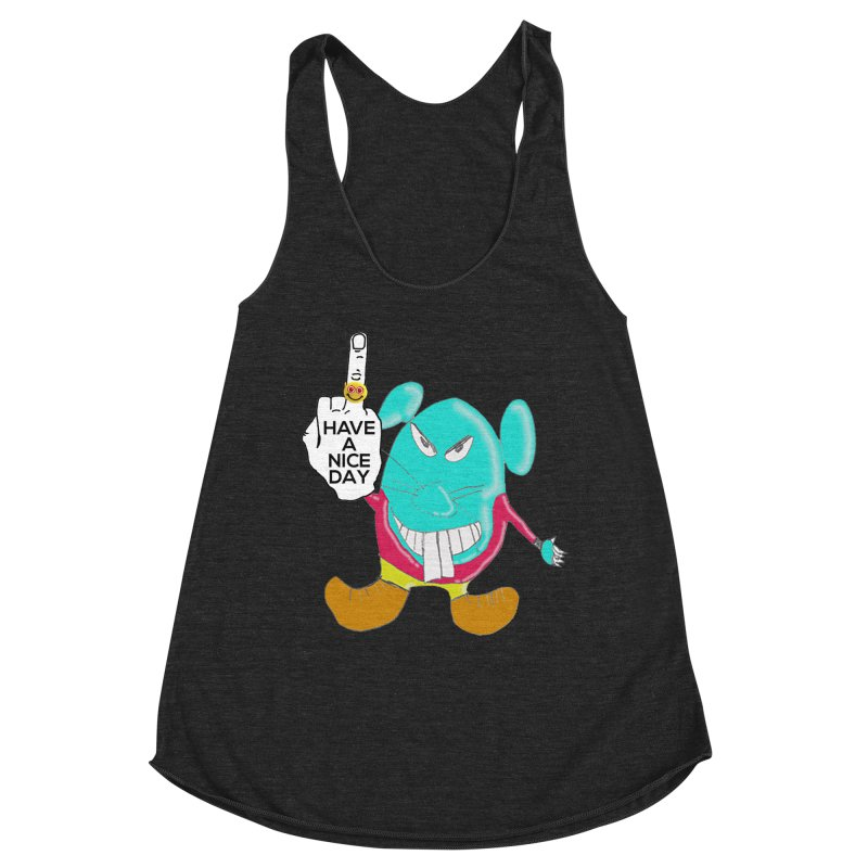 Mousie supports the HAND GESTURE FOR eARTh Women's Racerback Triblend Tank by H.A.N.D. GESTURE FOR eARTh! • View COLLECTIONS Too