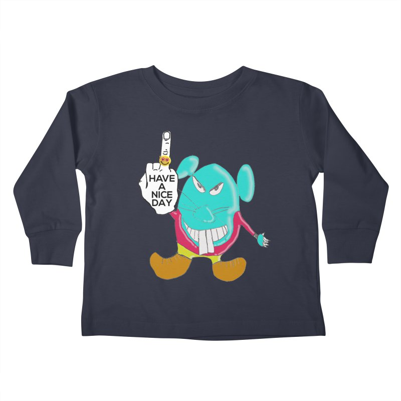 Mousie supports the HAND GESTURE FOR eARTh Kids Toddler Longsleeve T-Shirt by H.A.N.D. GESTURE FOR eARTh! • View COLLECTIONS Too