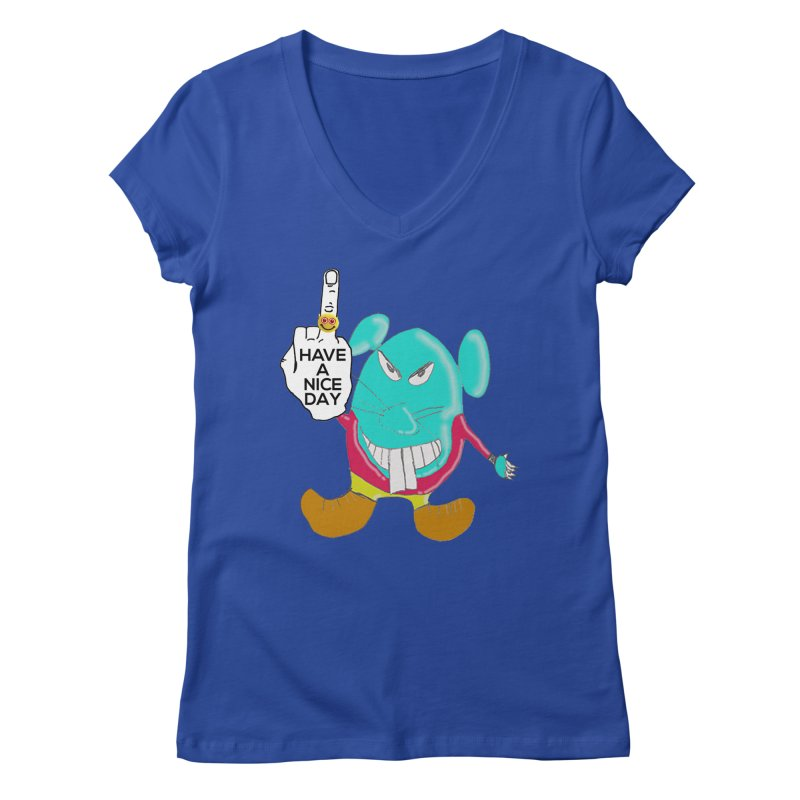 Mousie supports the HAND GESTURE FOR eARTh Women's Regular V-Neck by H.A.N.D. GESTURE FOR eARTh! • View COLLECTIONS Too