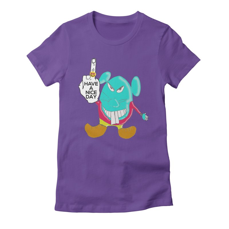 Mousie supports the HAND GESTURE FOR eARTh Women's Fitted T-Shirt by H.A.N.D. GESTURE FOR eARTh! • View COLLECTIONS Too