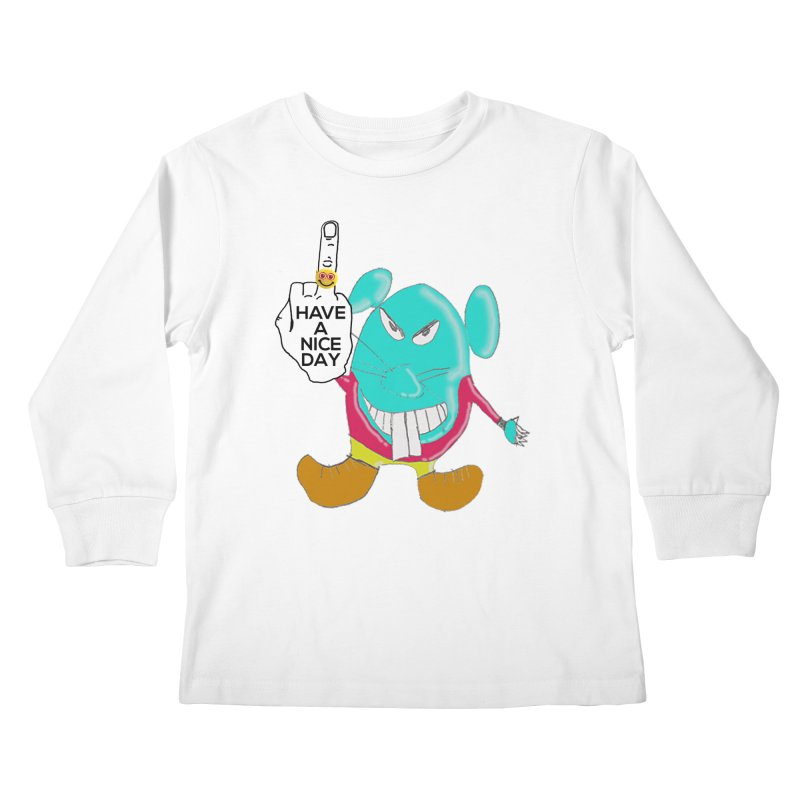 Mousie supports the HAND GESTURE FOR eARTh Kids Longsleeve T-Shirt by H.A.N.D. GESTURE FOR eARTh! • View COLLECTIONS Too