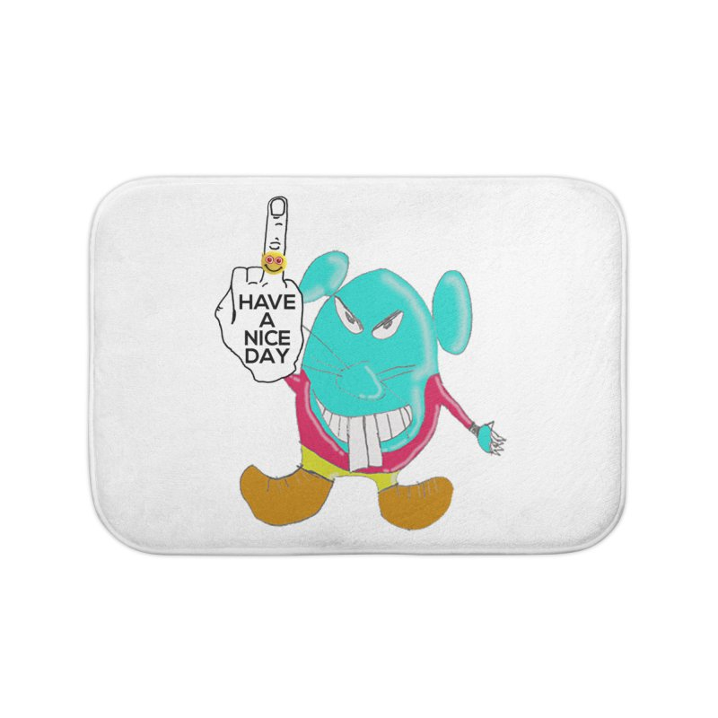 Mousie supports the HAND GESTURE FOR eARTh Home Bath Mat by the FRINGER! • H.A.N.D. GESTURE FOR eARTh!