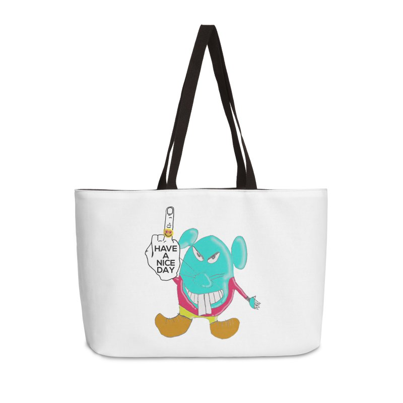 Mousie supports the HAND GESTURE FOR eARTh Accessories Weekender Bag Bag by H.A.N.D. GESTURE FOR eARTh! • View COLLECTIONS Too