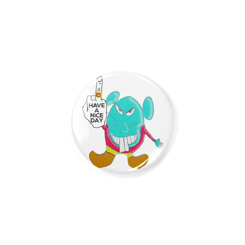 Mousie supports the HAND GESTURE FOR eARTh Accessories Button by H.A.N.D. GESTURE FOR eARTh! • the FRINGER!