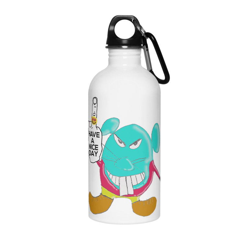 Mousie supports the HAND GESTURE FOR eARTh Accessories Water Bottle by H.A.N.D. GESTURE FOR eARTh! • View COLLECTIONS Too