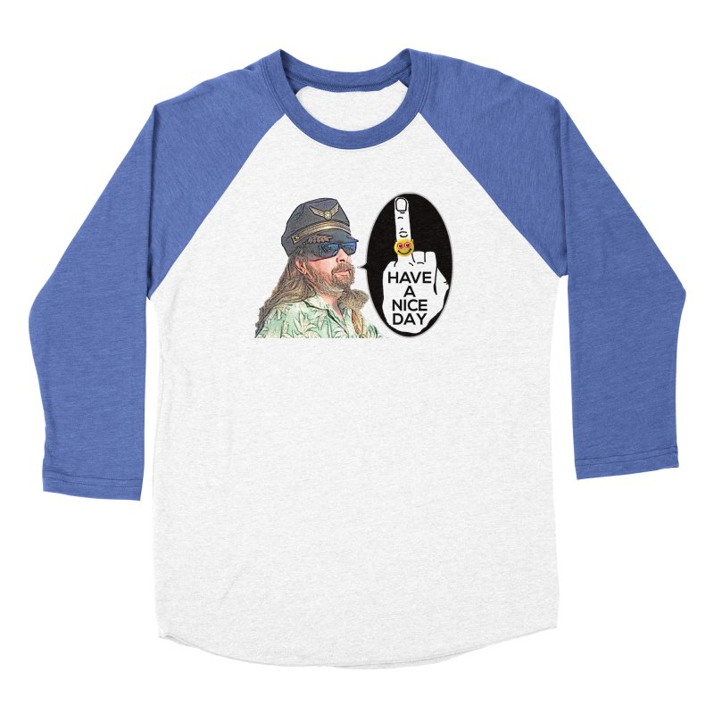 Captain Oblivious supports the HAND GESTURE FOR eARTh Women's Baseball Triblend Longsleeve T-Shirt by H.A.N.D. GESTURE FOR eARTh! • View COLLECTIONS Too