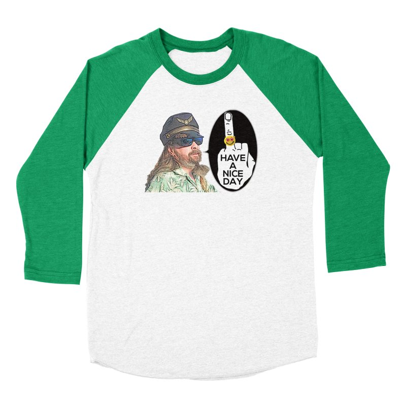 Captain Oblivious supports the HAND GESTURE FOR eARTh Men's Baseball Triblend Longsleeve T-Shirt by H.A.N.D. GESTURE FOR eARTh! • View COLLECTIONS Too