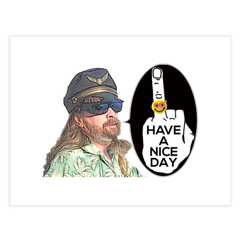 Captain Oblivious supports the HAND GESTURE FOR eARTh Home Fine Art Print by H.A.N.D. GESTURE FOR eARTh! • View COLLECTIONS Too