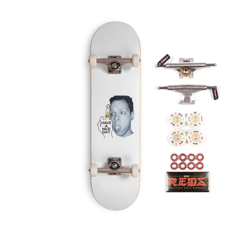 Mr. B supports the HAND GESTURE FOR eARTh Accessories Complete - Pro Skateboard by H.A.N.D. GESTURE FOR eARTh! • View COLLECTIONS Too