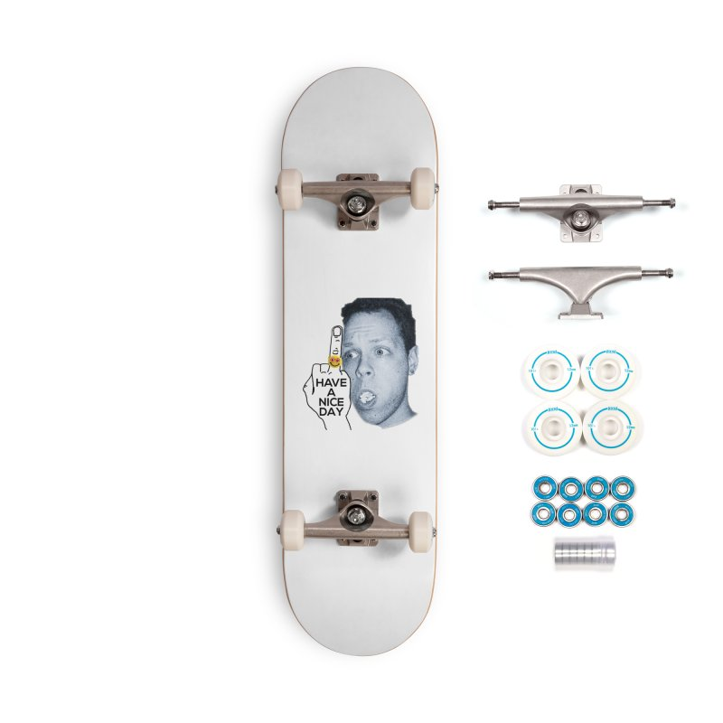 Mr. B supports the HAND GESTURE FOR eARTh Accessories Complete - Basic Skateboard by H.A.N.D. GESTURE FOR eARTh! • View COLLECTIONS Too