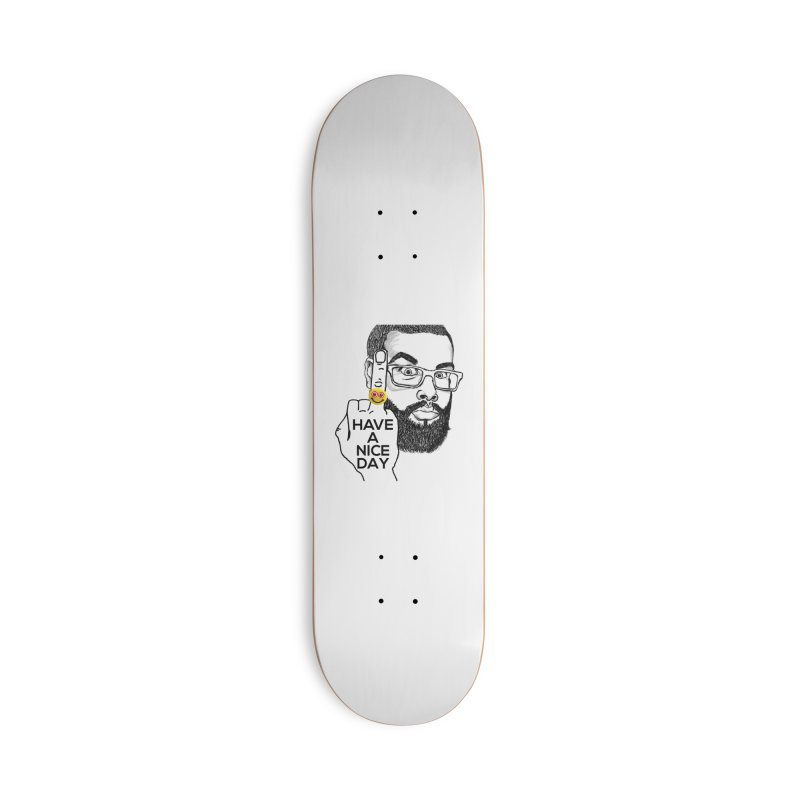 Mr. H supports the HAND GESTURE FOR eARTh Accessories Skateboard by the FRINGER! • H.A.N.D. GESTURE FOR eARTh!