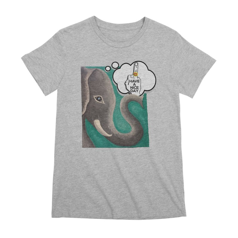 Ele supports the HAND GESTURE FOR eARTh Women's Premium T-Shirt by H.A.N.D. GESTURE FOR eARTh! • View COLLECTIONS Too