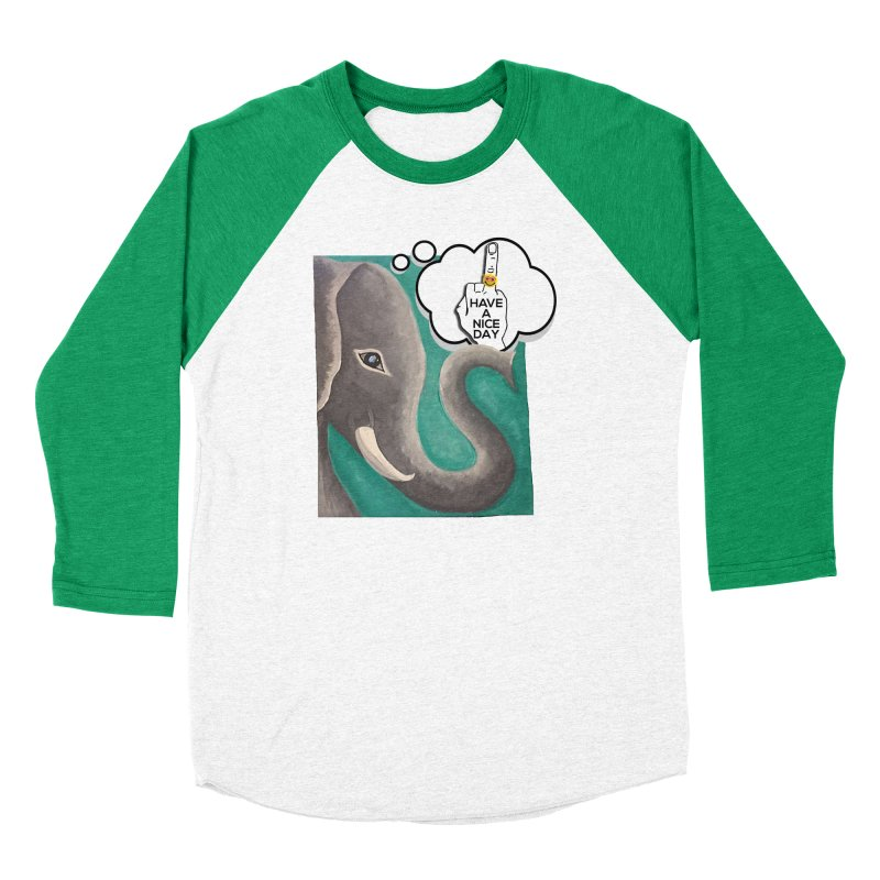 Ele supports the HAND GESTURE FOR eARTh Women's Baseball Triblend Longsleeve T-Shirt by H.A.N.D. GESTURE FOR eARTh! • View COLLECTIONS Too