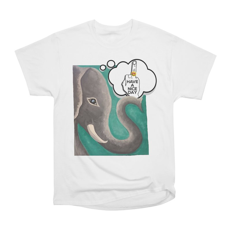Ele supports the HAND GESTURE FOR eARTh Women's Heavyweight Unisex T-Shirt by H.A.N.D. GESTURE FOR eARTh! • View COLLECTIONS Too