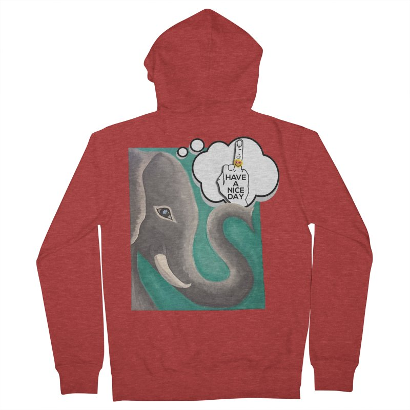 Ele supports the HAND GESTURE FOR eARTh Women's French Terry Zip-Up Hoody by H.A.N.D. GESTURE FOR eARTh! • View COLLECTIONS Too
