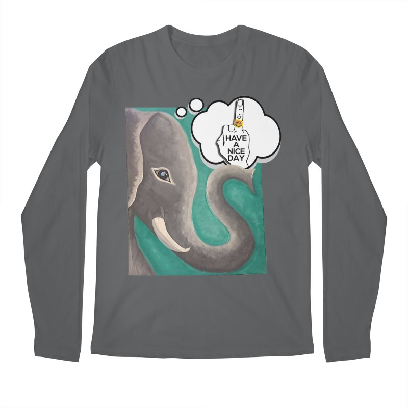 Ele supports the HAND GESTURE FOR eARTh Men's Regular Longsleeve T-Shirt by H.A.N.D. GESTURE FOR eARTh! • View COLLECTIONS Too