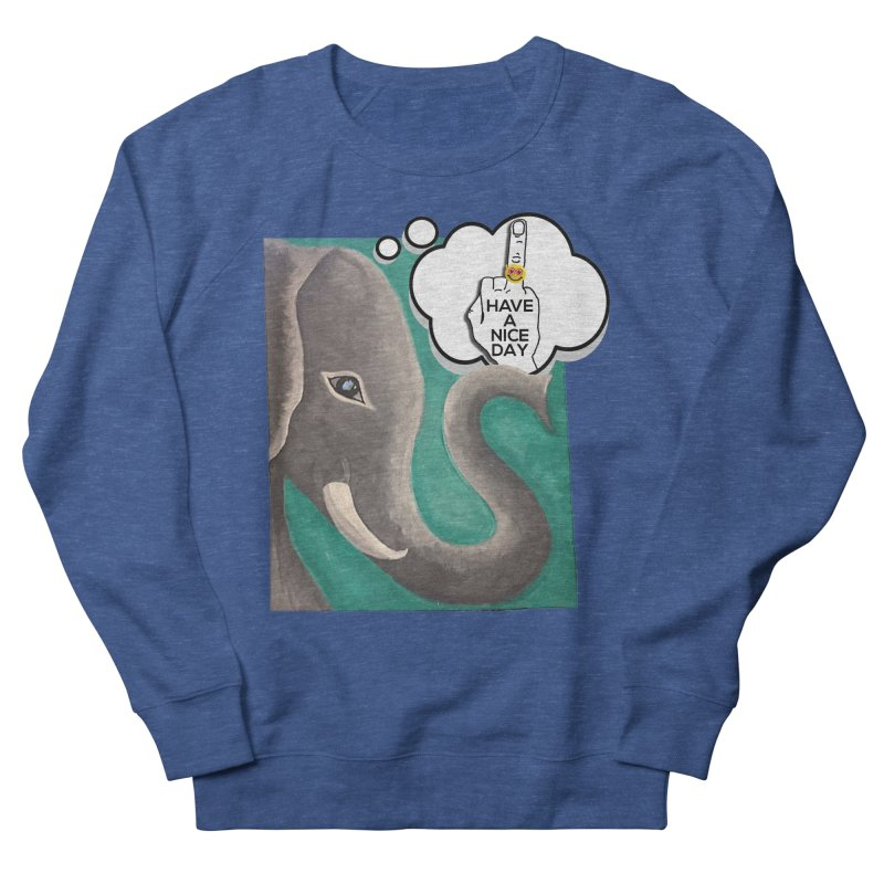 Ele supports the HAND GESTURE FOR eARTh Women's French Terry Sweatshirt by H.A.N.D. GESTURE FOR eARTh! • View COLLECTIONS Too