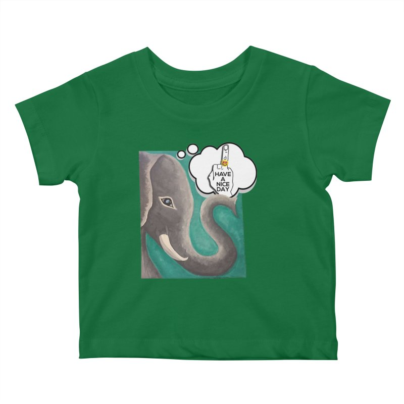 Ele supports the HAND GESTURE FOR eARTh Kids Baby T-Shirt by H.A.N.D. GESTURE FOR eARTh! • View COLLECTIONS Too