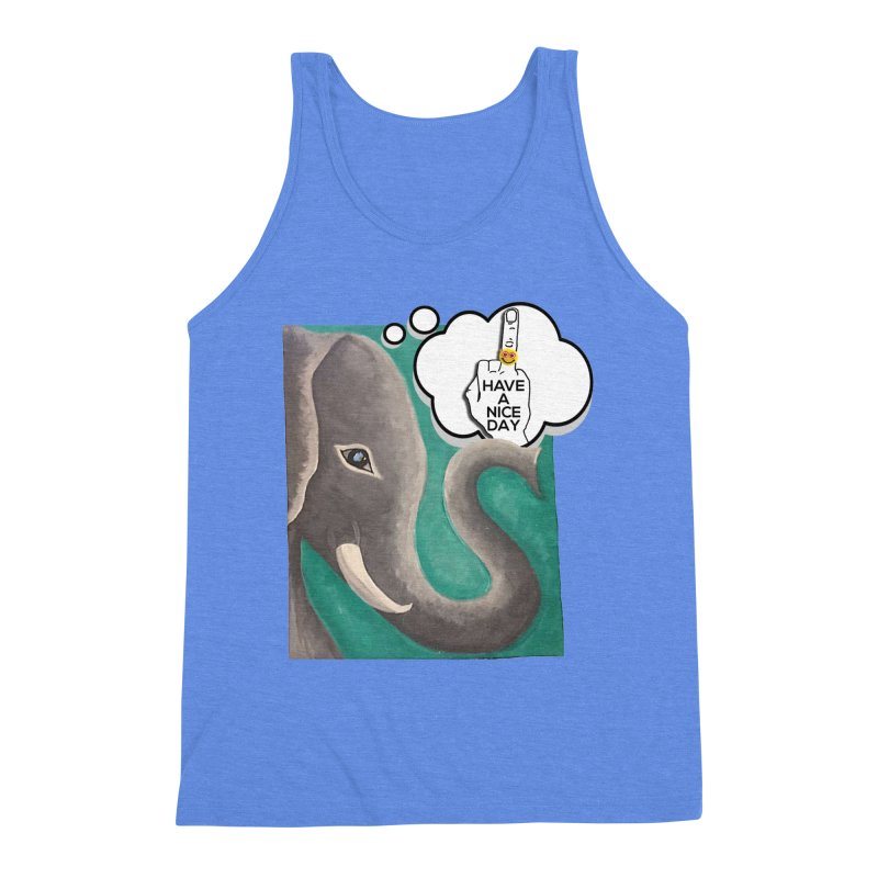 Ele supports the HAND GESTURE FOR eARTh Men's Triblend Tank by H.A.N.D. GESTURE FOR eARTh! • View COLLECTIONS Too
