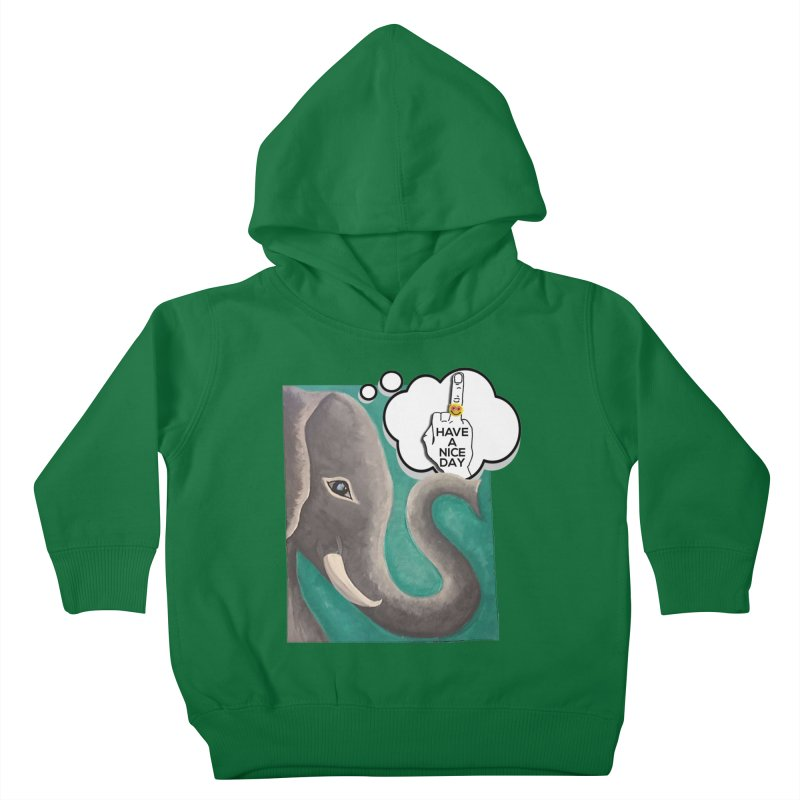 Ele supports the HAND GESTURE FOR eARTh Kids Toddler Pullover Hoody by H.A.N.D. GESTURE FOR eARTh! • View COLLECTIONS Too
