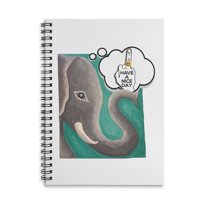 Ele supports the HAND GESTURE FOR eARTh Accessories Lined Spiral Notebook by H.A.N.D. GESTURE FOR eARTh! • View COLLECTIONS Too